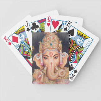 Hindu Elephant Ganesha Bicycle Playing Cards