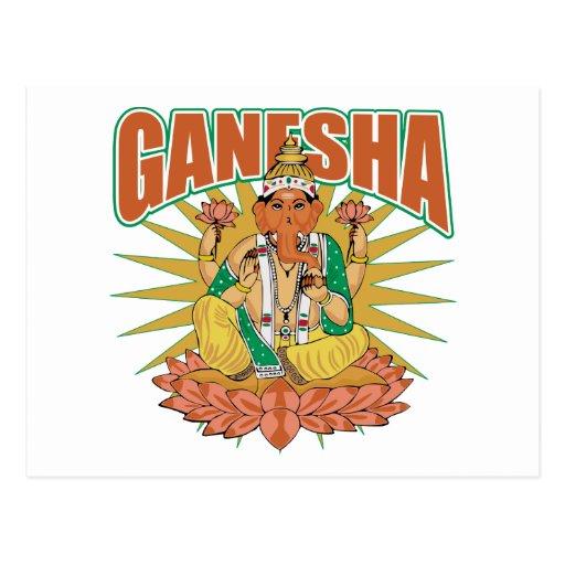 Hindu Ganesha Postcard