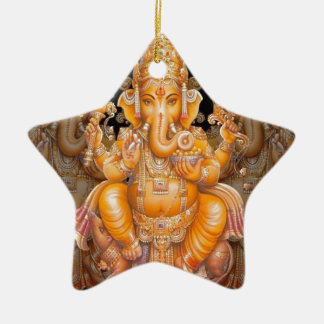 Hindu God Ganesh Christmas Ornament