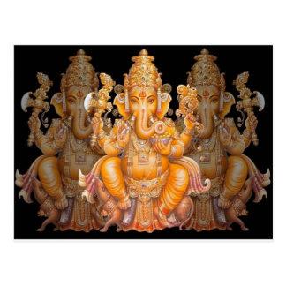 Hindu God Ganesh Post Card