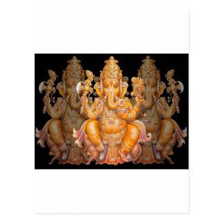 Hindu God Ganesh Post Cards