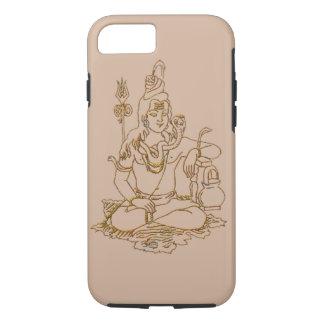 Hindu god shiva apple iphone hard case design