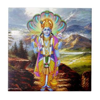 HINDU GOD VISHNU TILE