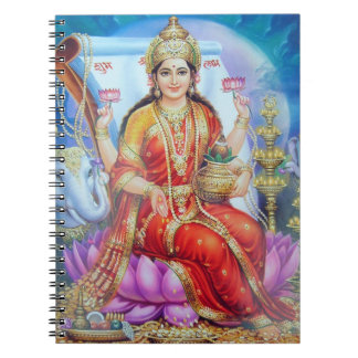 Hindu Goddess Lakshmi Devi Notebooks