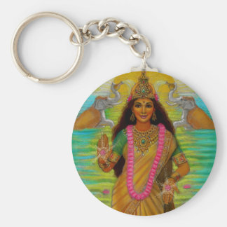 Hindu Goddess Lakshmi Keychain