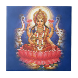 Hindu Goddess Laxmi Devi Mata Tile