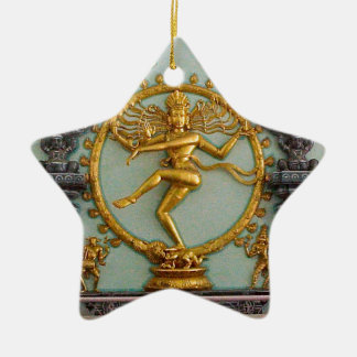 Hindu gods, Shiva Ceramic Star Decoration