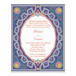 Hindu Muslim Arabic Wedding or Mehndi Invitation