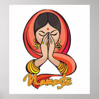 Hindu Namaste Poster