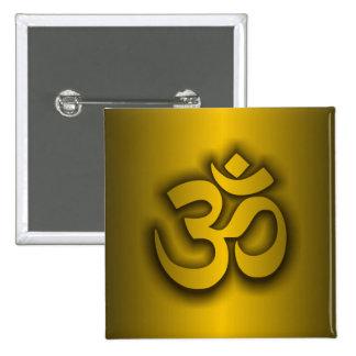 "Hindu ""Om"" Pinback Button"