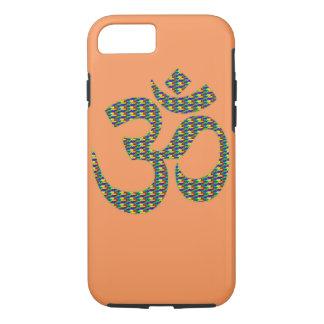 Hindu Om Lotus symbol Spiritual apple iphone case
