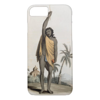 Hindu Priest, pub. by Edward Orme, 1804 (litho) iPhone 7 Case