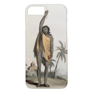 Hindu Priest, pub. by Edward Orme, 1804 (litho) iPhone 8/7 Case