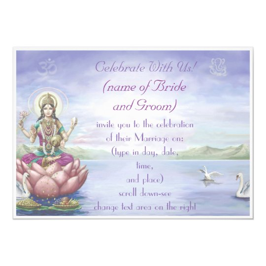 Hindu Wedding Invitations -customise