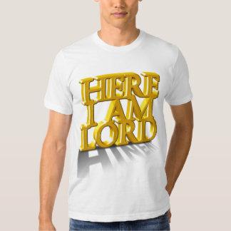 Hineni - Here I am Lord Tee Shirt