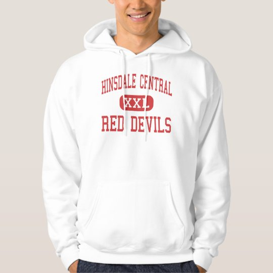 Hinsdale Central - Red Devils - High - Hinsdale Hoodie