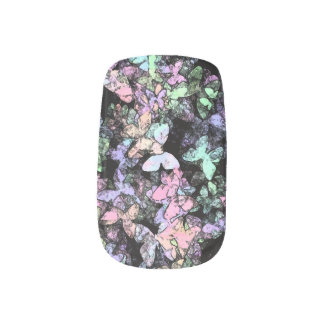 hint of butterfly Minx nails Nail Stickers