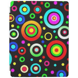 Hintergund circle pattern iPad cover