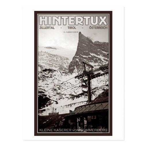 Hintertux - Kleine Kaserer Post Card