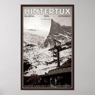 Hintertux - Kleine Kaserer Poster