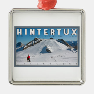 Hintertux - the Gefrorene Wand Christmas Ornament
