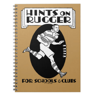 Hints On Rugger - Rugby Notebook