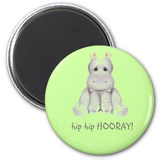 hip 2 B hippo Magnet
