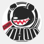 Hip bear stickers