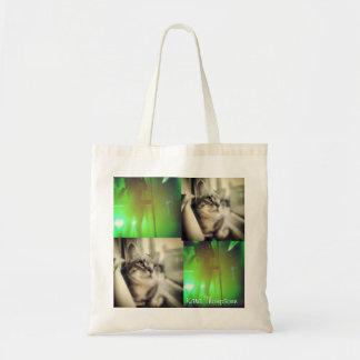 Hip Cat Budget Tote Bag