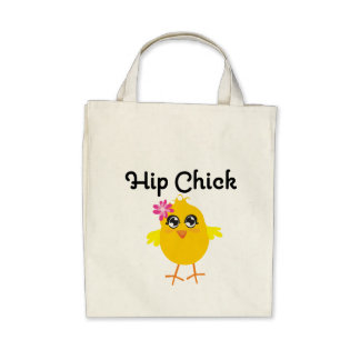 Hip Chick Tote Bag