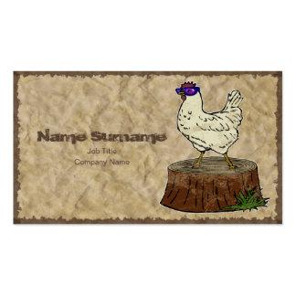 Hip Chicken business card template