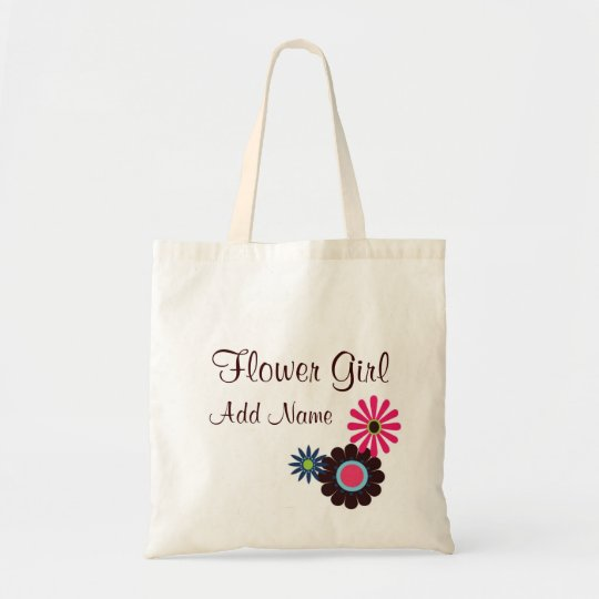 Hip Flower Girl Customizalbe Gift Bag