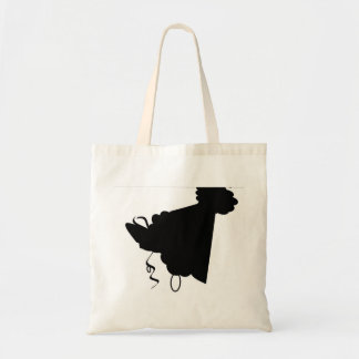 Hip hat budget tote bag