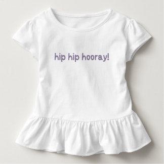 Hip Hip Hooray Dysplasia Awareness Toddler T-Shirt