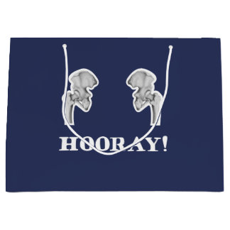 Hip Hip Hooray Funny Anatomy Gift Bag