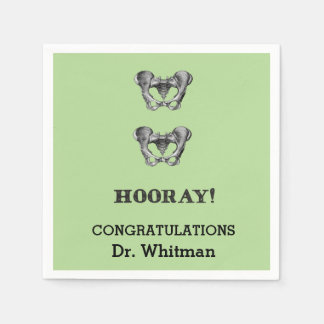 Hip Hip Hooray Personalized Graduation Napkin Paper Napkin