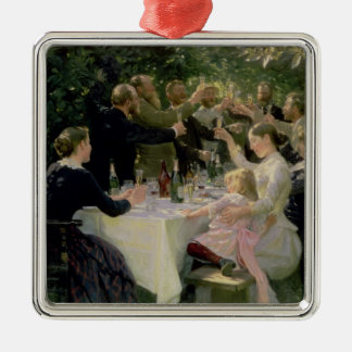 Hip Hip Hurrah! Artists' Party at Skagen, 1888 Christmas Ornament