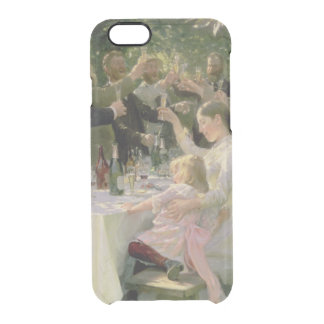 Hip Hip Hurrah! Artists' Party at Skagen, 1888 Clear iPhone 6/6S Case
