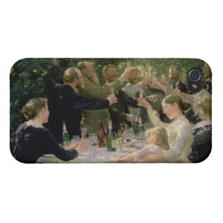 Hip Hip Hurrah! Artists' Party at Skagen, 1888 iPhone 4 Cases