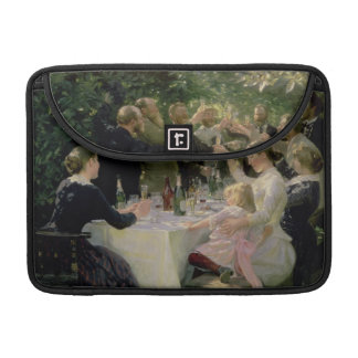 Hip Hip Hurrah! Artists' Party at Skagen, 1888 MacBook Pro Sleeves