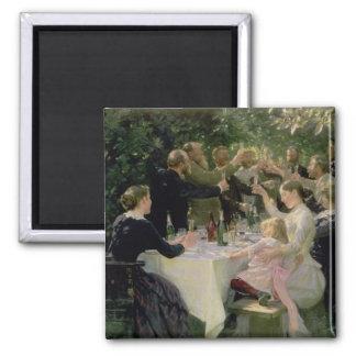Hip Hip Hurrah! Artists' Party at Skagen, 1888 Magnet