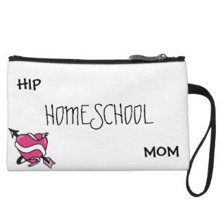 Hip Homeschool Mom Clutch Wristlet Clutch