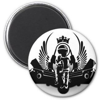 Hip-hop 6 Cm Round Magnet