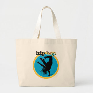 HIP HOP Break Dancer Jumbo Tote Bag