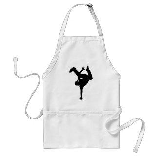 Hip hop breakdancer standard apron