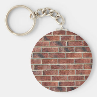 Hip Hop Brick Wall Urban Template Basic Round Button Key Ring