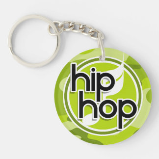 Hip Hop bright green camo camouflage Key Chains