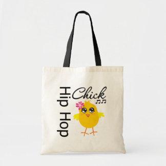 Hip Hop Chick Canvas Bags