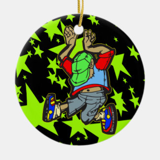 Hip Hop Dance Christmas Ornament