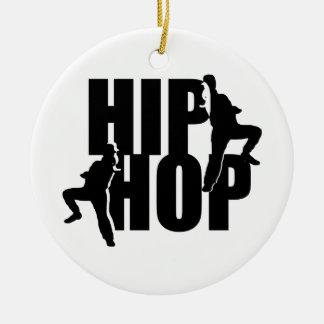 Hip Hop Dance Girls Text Design Ornament